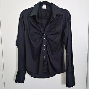 Craig Taylor black button down shirt